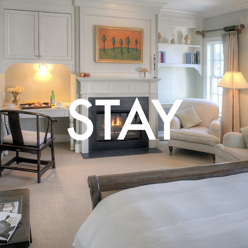Cozy and beautiful options in the heart of the Borough. -