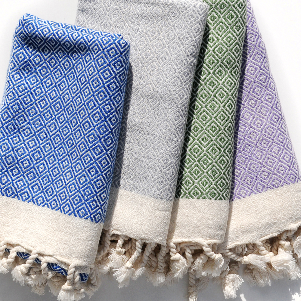 Beautiful textiles make beautiful gifts - Wrap up one (or a set) of luxurious, organic cotton hand towels woven in Turkey. Yali Stonington online. $28 each.