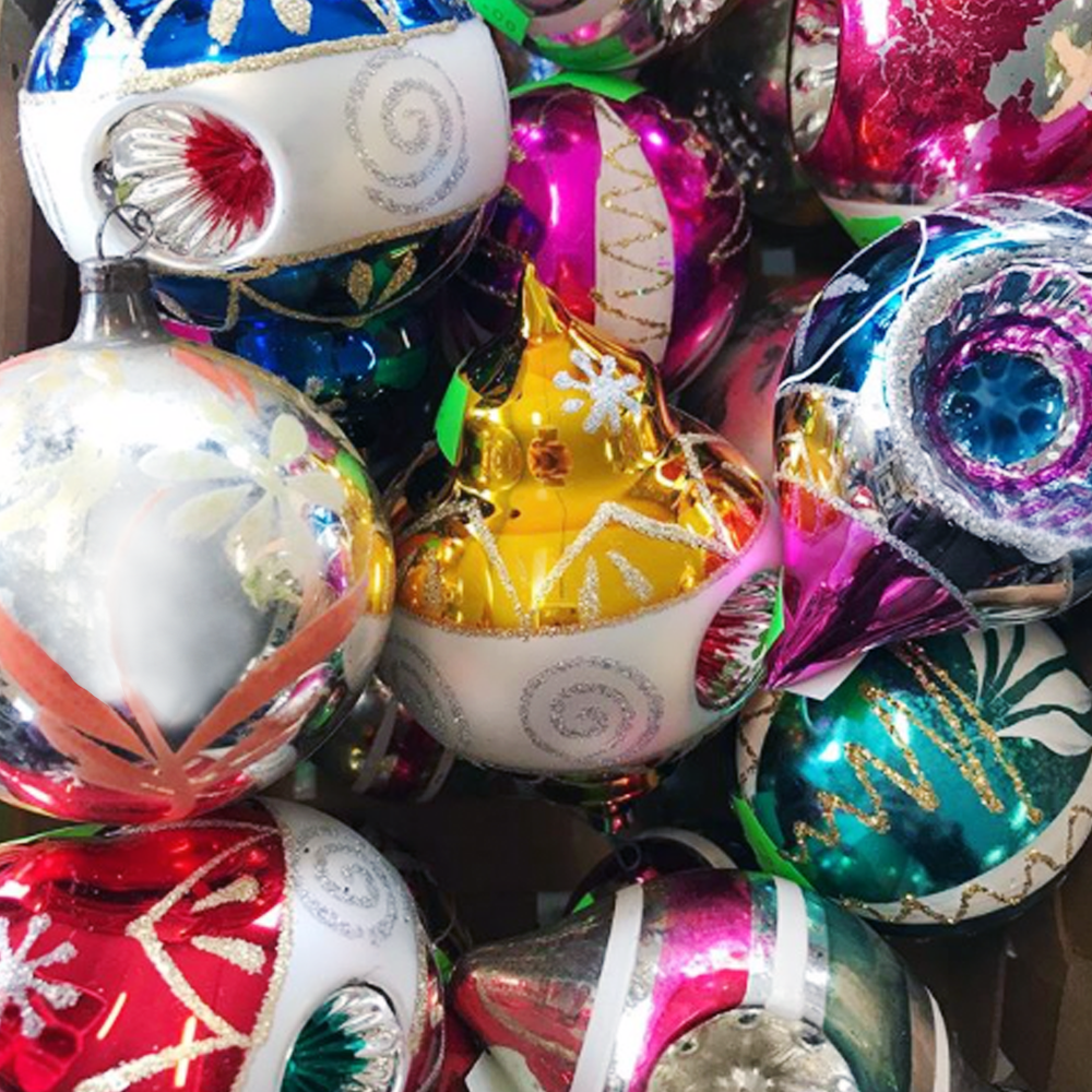 Celebrate and decorate! - Whether you need to decorate your house or embellish your gifts with something extra special, check out the Stonington COMO Thrift Shop at 45 Cutler Street. They've got a great selection of ornaments and wreaths.
