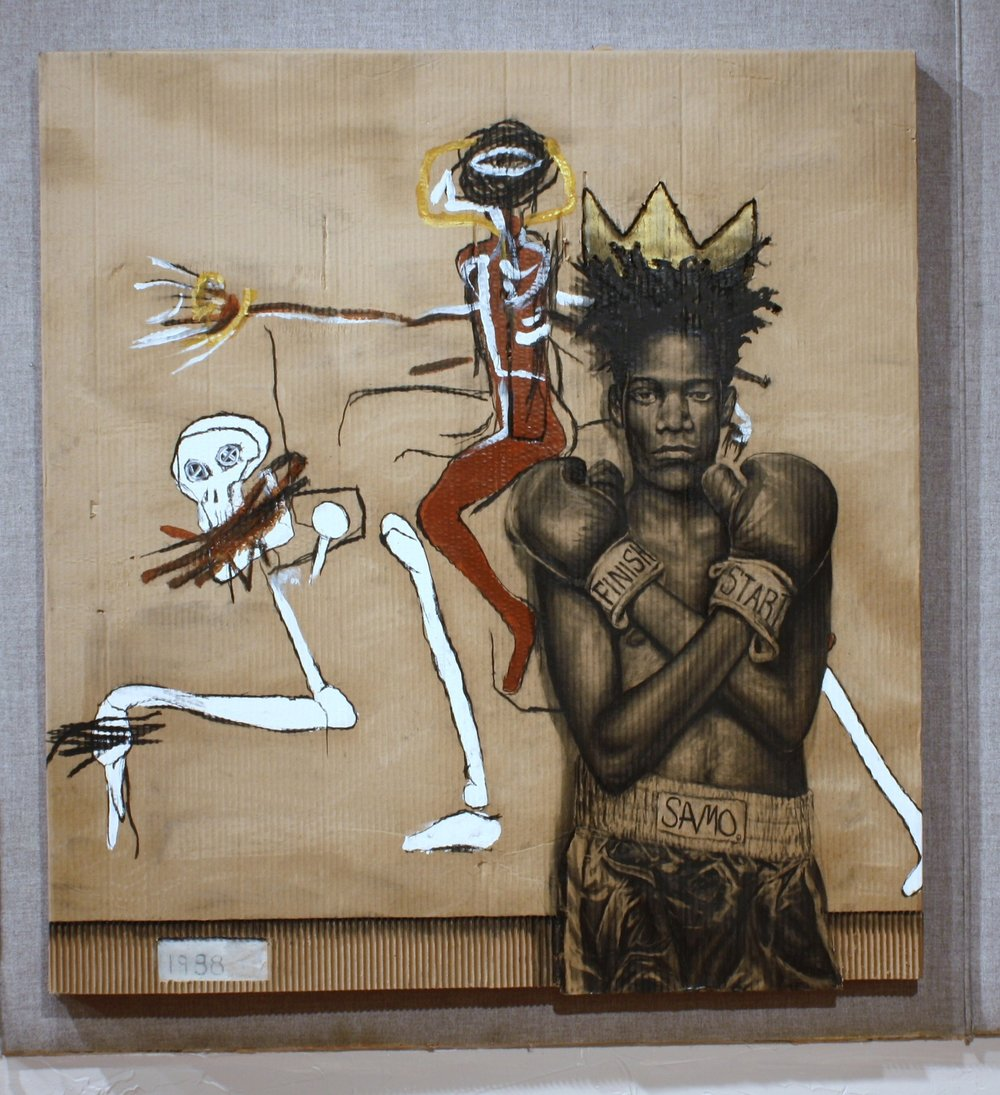 Basquiat Riding with Death