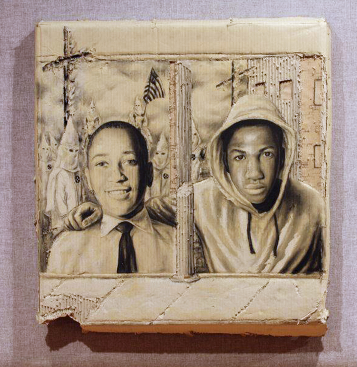 Never Forget Emmett Till, Always Remember Trayvon Martin