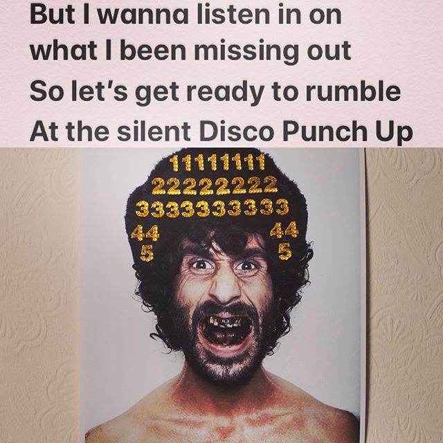 'Silent Disco Punch Up' spinning on @mcrislive 10-1 tomorrow courtesy of @thevanityprojectband LYRICS like a silent Disco Punch Up it may seem a little strange & funny somehow but I wanna listen in on what I been missing out, so let's get ready to rumble at the Silent Disco Punch Up