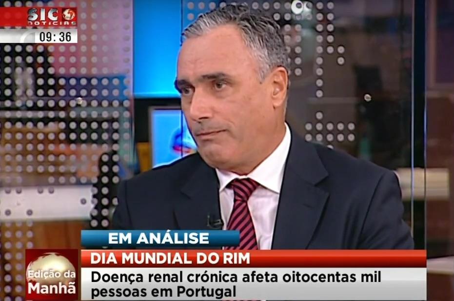 Dr Aníbal Ferreira na SIC Notícias