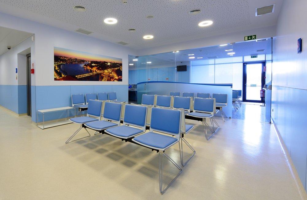 NephroCare Vila Nova de Gaia - sala de espera