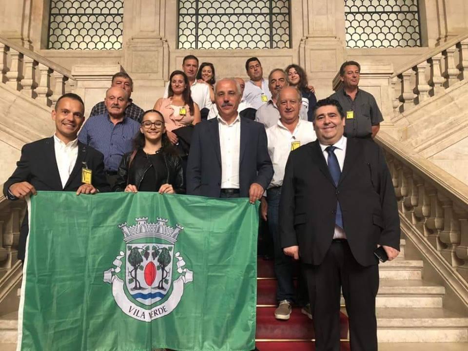 Homenagem a Ricardo Cunha na Assembleia da República