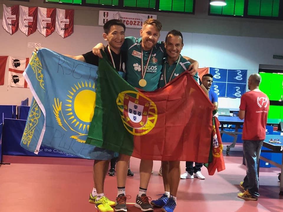 Conquista do 3º lugar ténis de mesa individual no Europeu para Transplantados e Dialisados