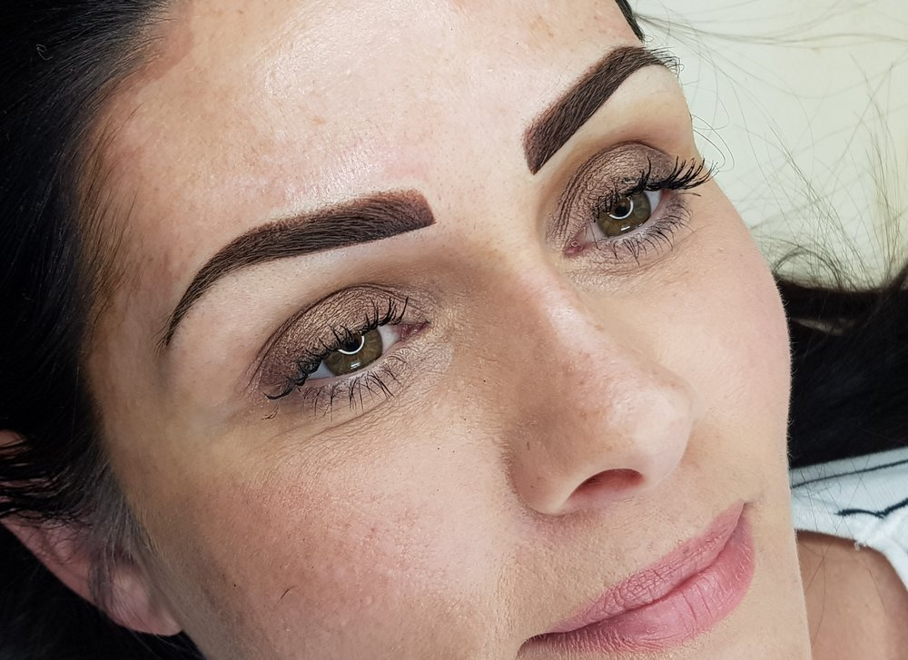 Ombre Brow Tattoo