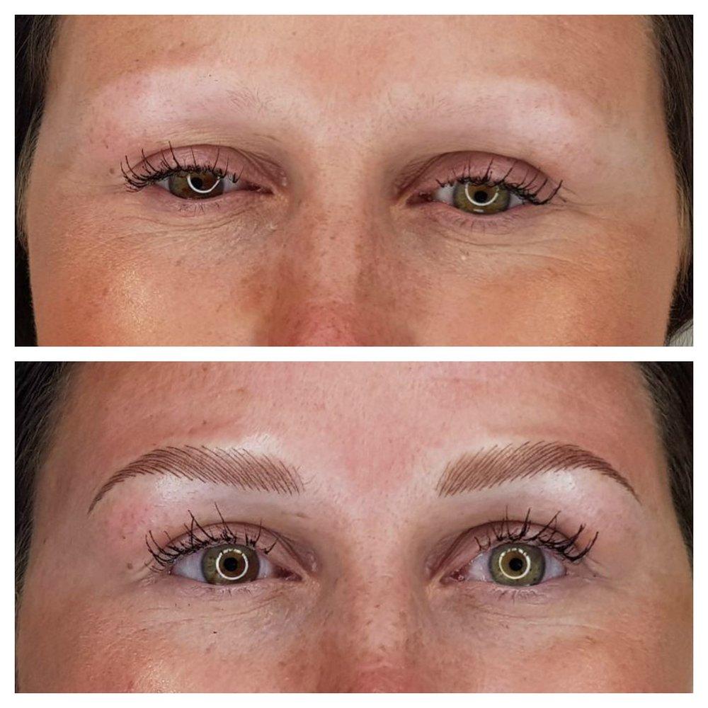 Alopecia - Eyebrow Tattoo