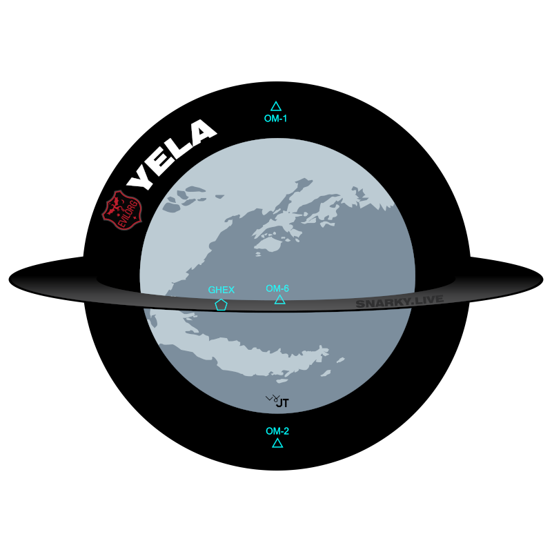 Yela Map Graphic