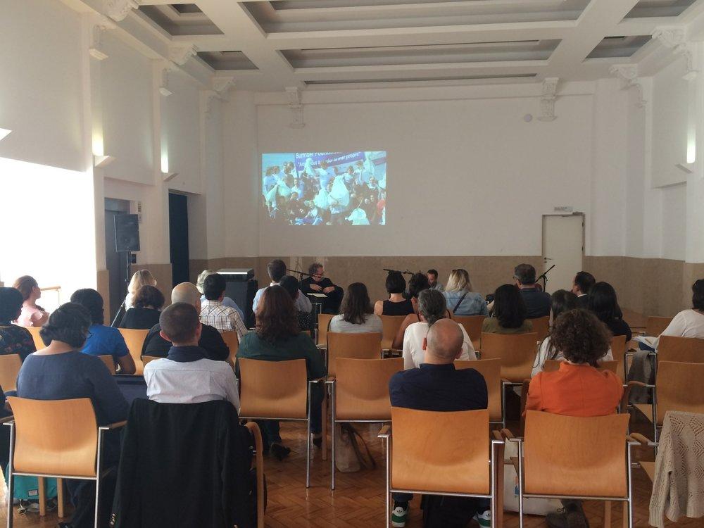 Sessão pública no Teatro Aveirense   DR