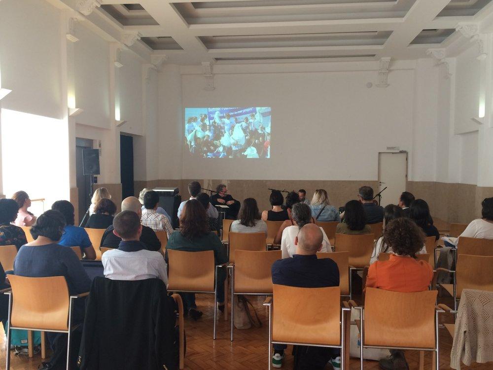 Public session at Teatro Aveirense