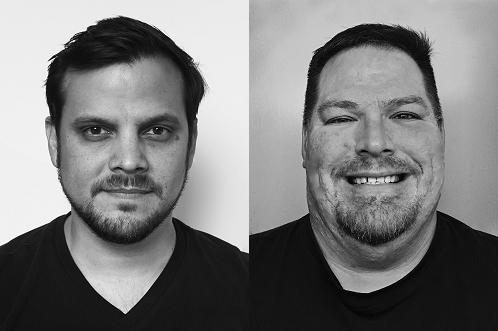 Ruben Laine and Kade Behm (L to R) join Avolites as U.S. support engineers