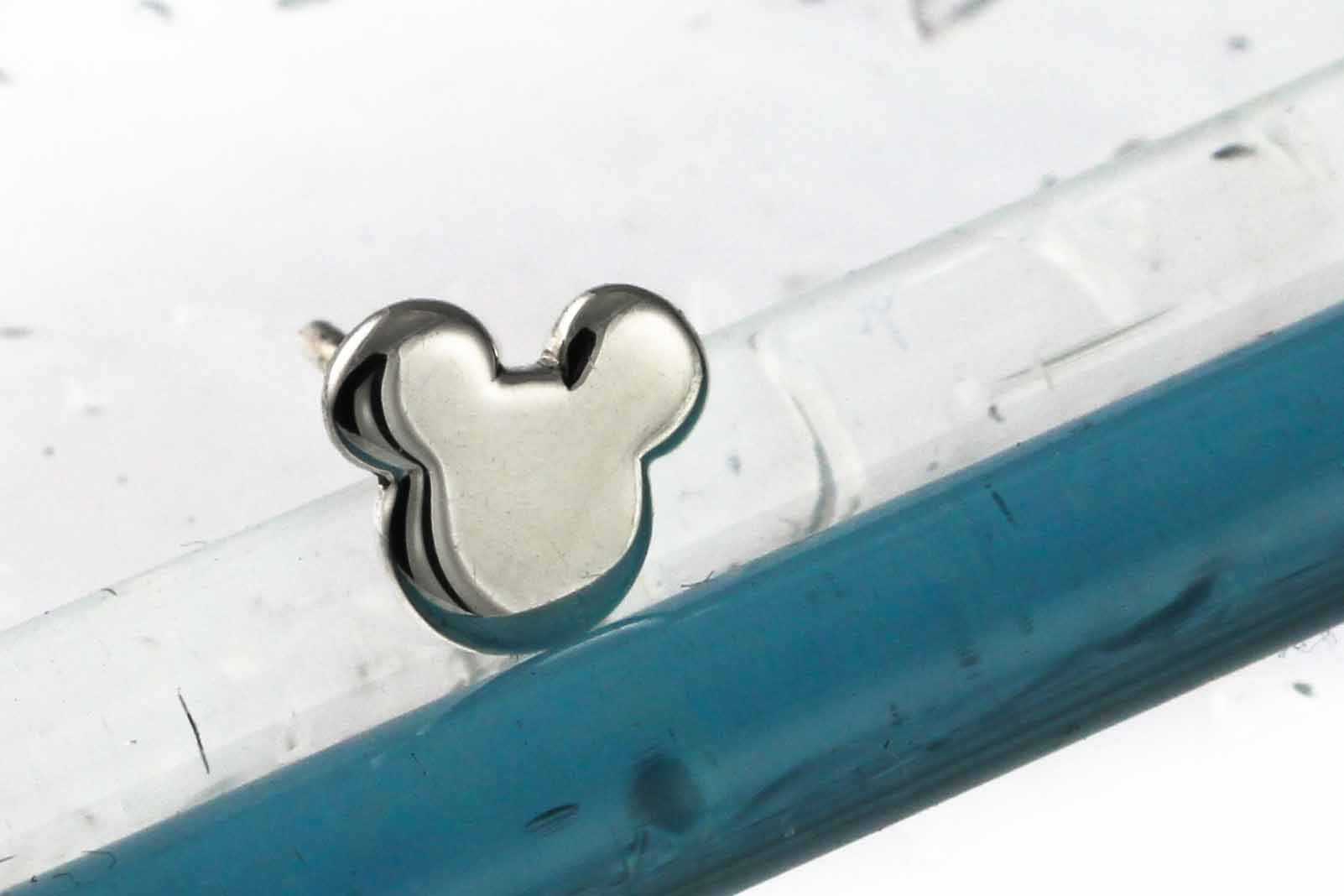 Sterling silver mickey mouse disney earrings