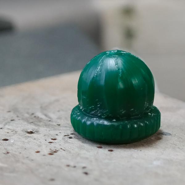 iced gem wax carving
