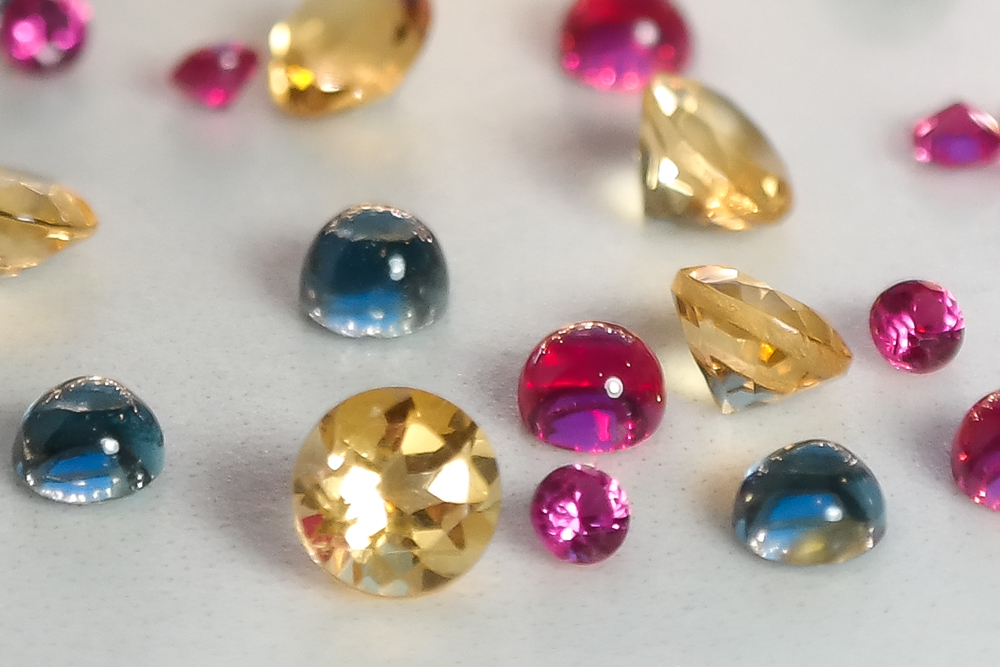 Semi precious ethical gemstones