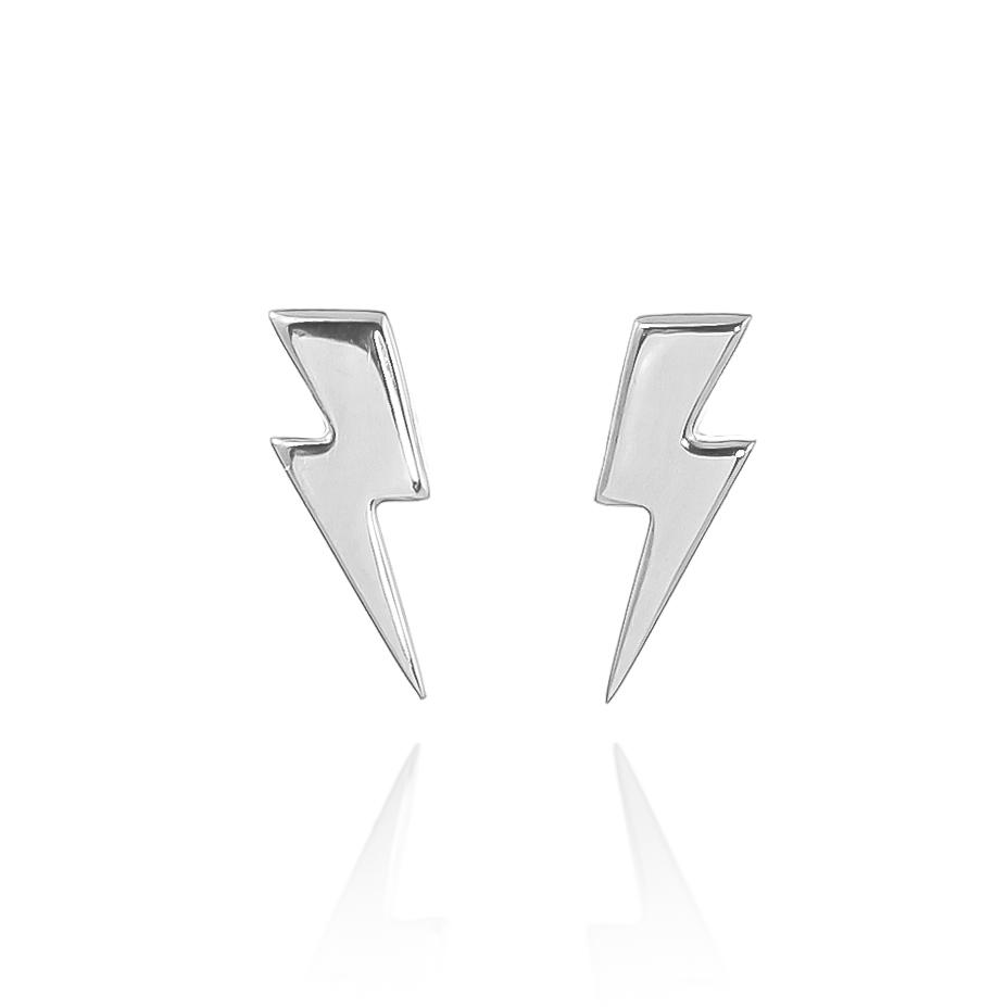 Lightning Bolt Earrings Lauren Grace Jewellery