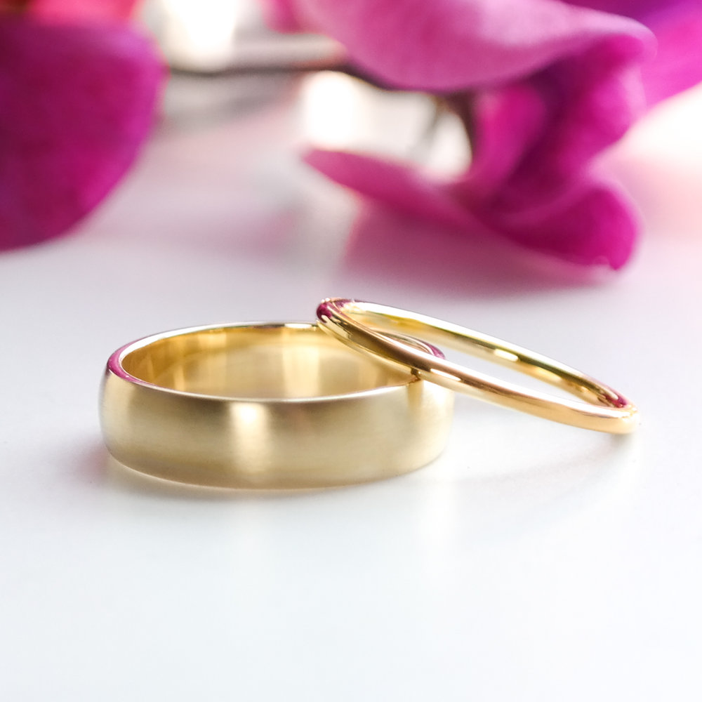 Handmade eco-gold-wedding-rings
