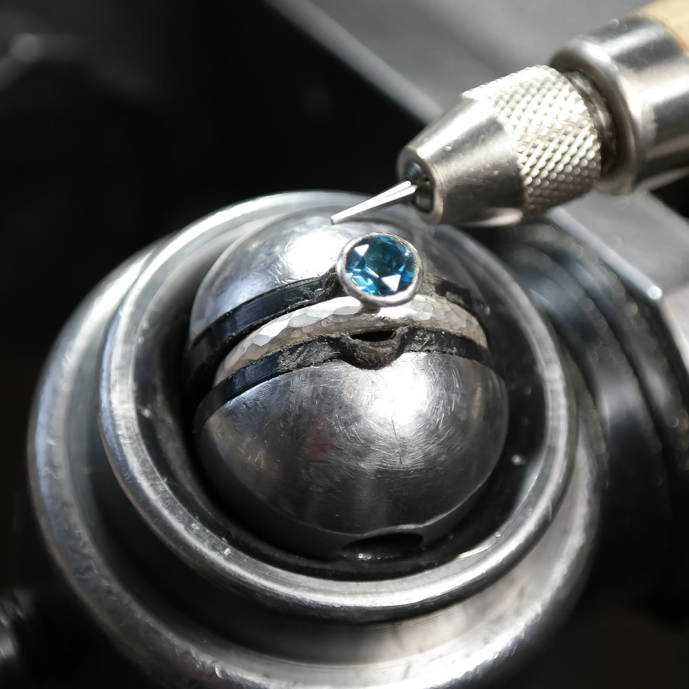 Stone-setting-work-in-progress-lauren-grace-jewellery