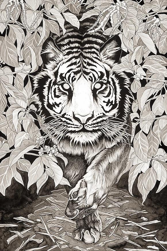 Kali's Tiger