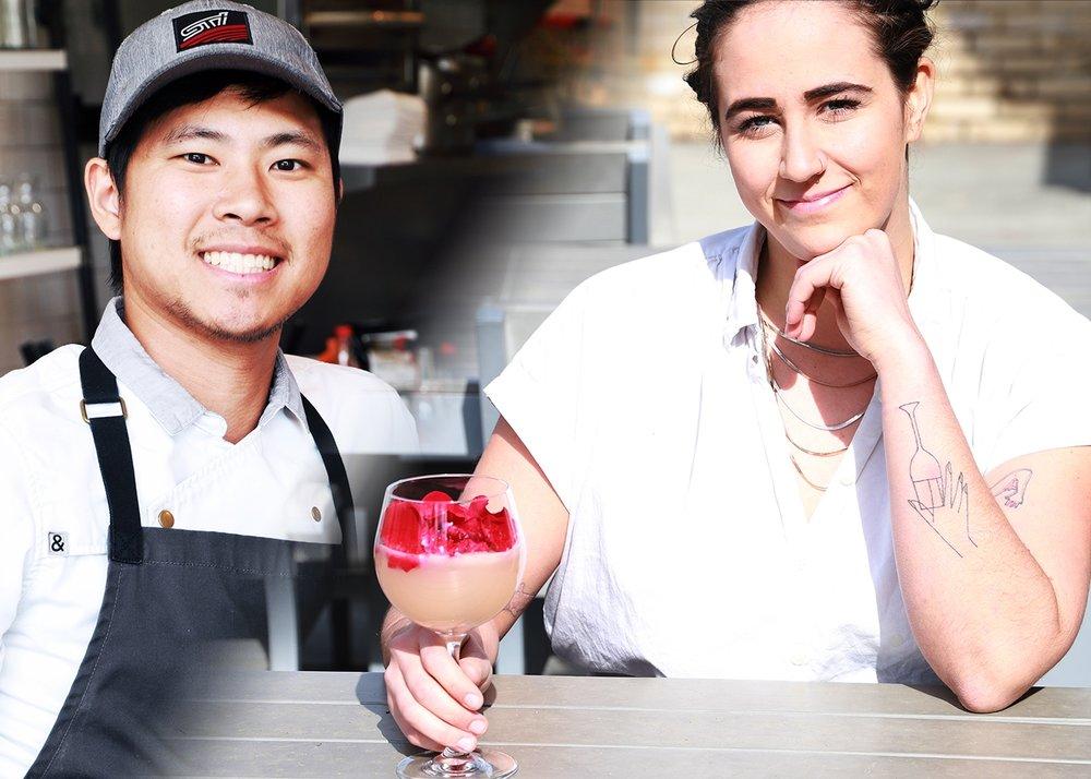 Kevin Tien and.Carlie Steiner -