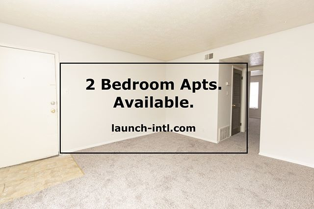 Check our apartments out today! launch-intl.com