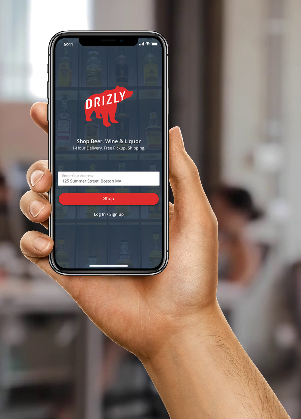 Drizly - Alcohol Delivery Marketplace - August 2018Client ProjectDuration - 3 Weeks