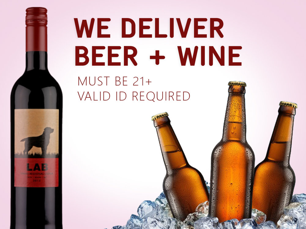 Beer and wine delivery in Portland Oregon