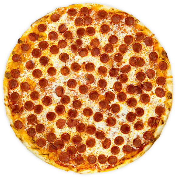 Pepperoni - Spicy cup + curl pepperoni on our rich, marinara base.$11 / $18 / $25