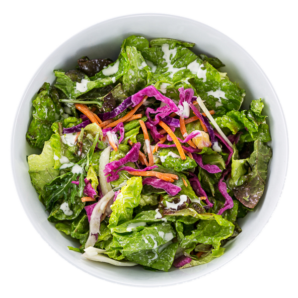 Mixed Green Salad - VEGANA variety of local greens + fresh vegetables $7.50