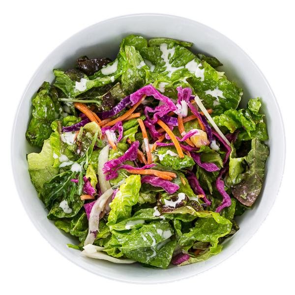 Mixed Green Salad - VEGANA variety of local greens + fresh vegetables $7.50