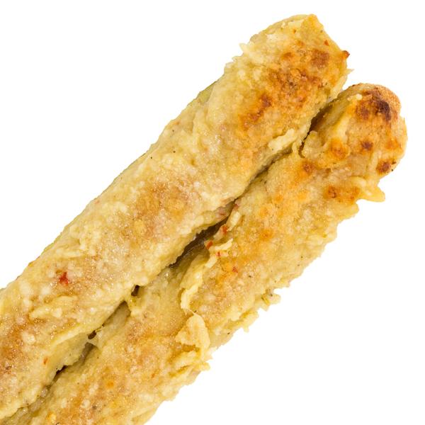 Garlic Parmesan Breadstick - Includes ranch or marinara dipping sauce$3