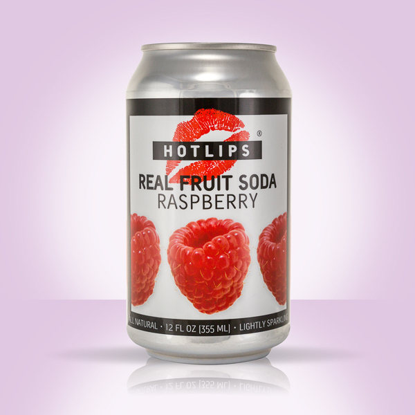 HOTLIPS Soda available for delivery - Raspberry
