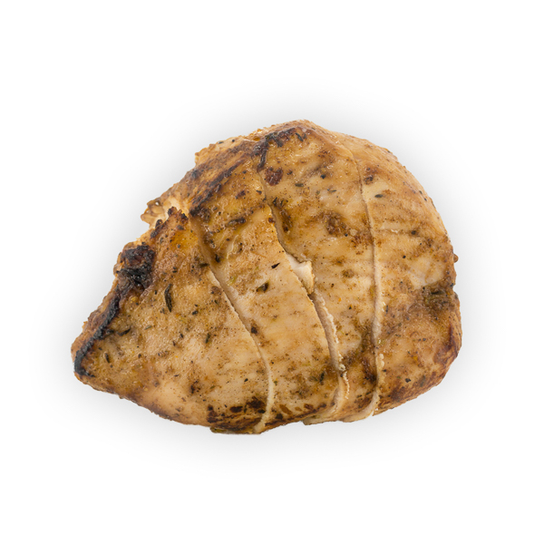 Chicken Breast - Marinated + baked, and delicous on top of any salad. Veggie fed, no hormones or antibiotics$3.25