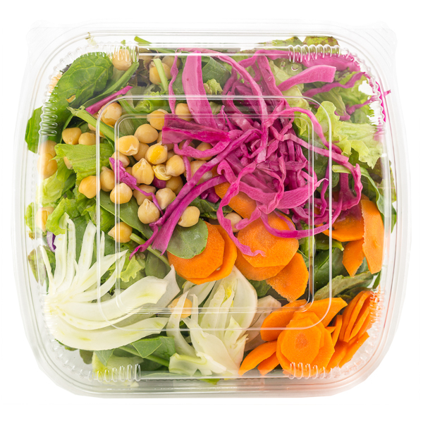 Family Salad - VEGAN Mixed greens + fresh vegetables. Serves 4-6 generously.$16