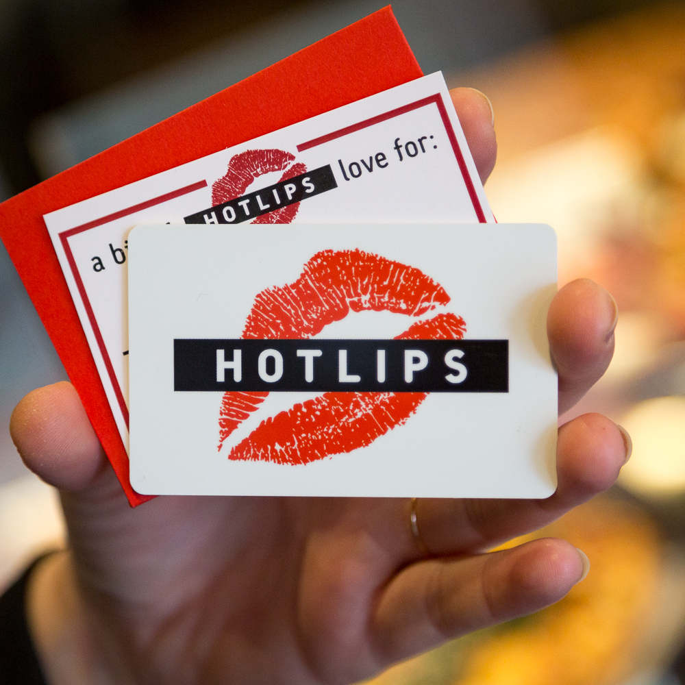 HOTLIPS Pizza Gift Cards