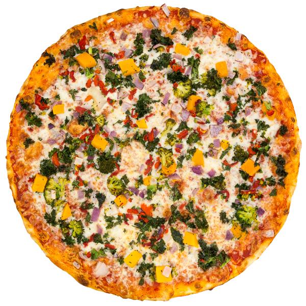 Sunday Vegetarian Slice:  Veggie Supreme