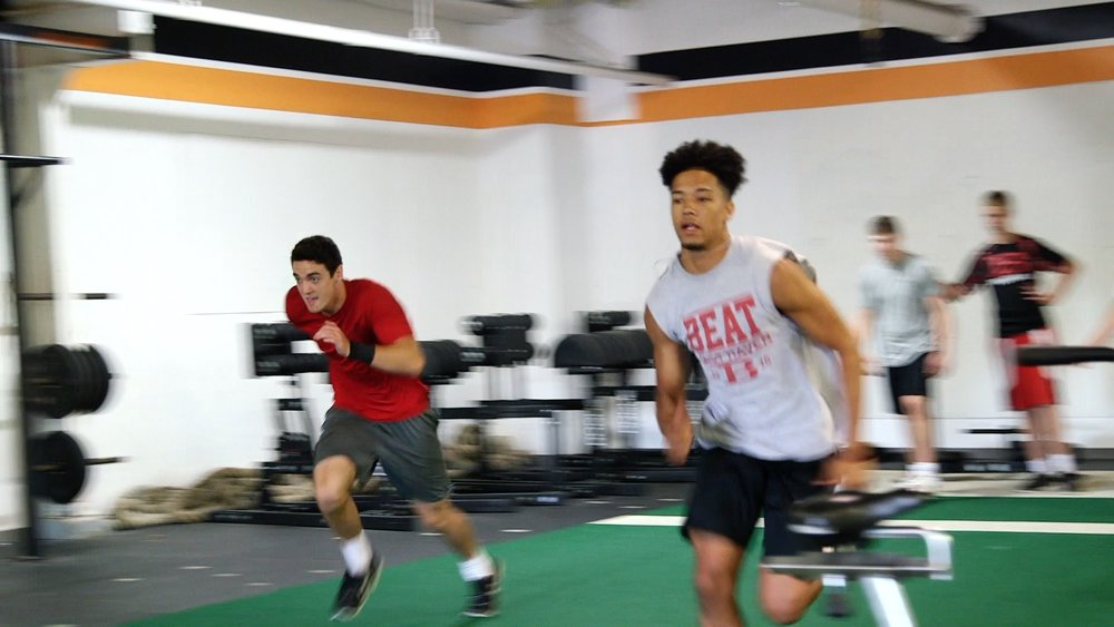 Team Sports Training or Team Programming - Time / Date- based off team Price- varies off number of athletes and length of programBranford CrossFit has been developing athlete programs for all sports since its inception and well before that. Through years of experience in sports and in training for sport we will lay down the blueprints for any level of athlete. Your team will have the unique ability to have their own time slot where only they can train inside BCF's facility. They will be under the microscope of BCF's certified coaches who were athletes themselves and understand what it takes. Our main focuses are working to improve fundamentals, increase power / speed, build camaraderie and leadership