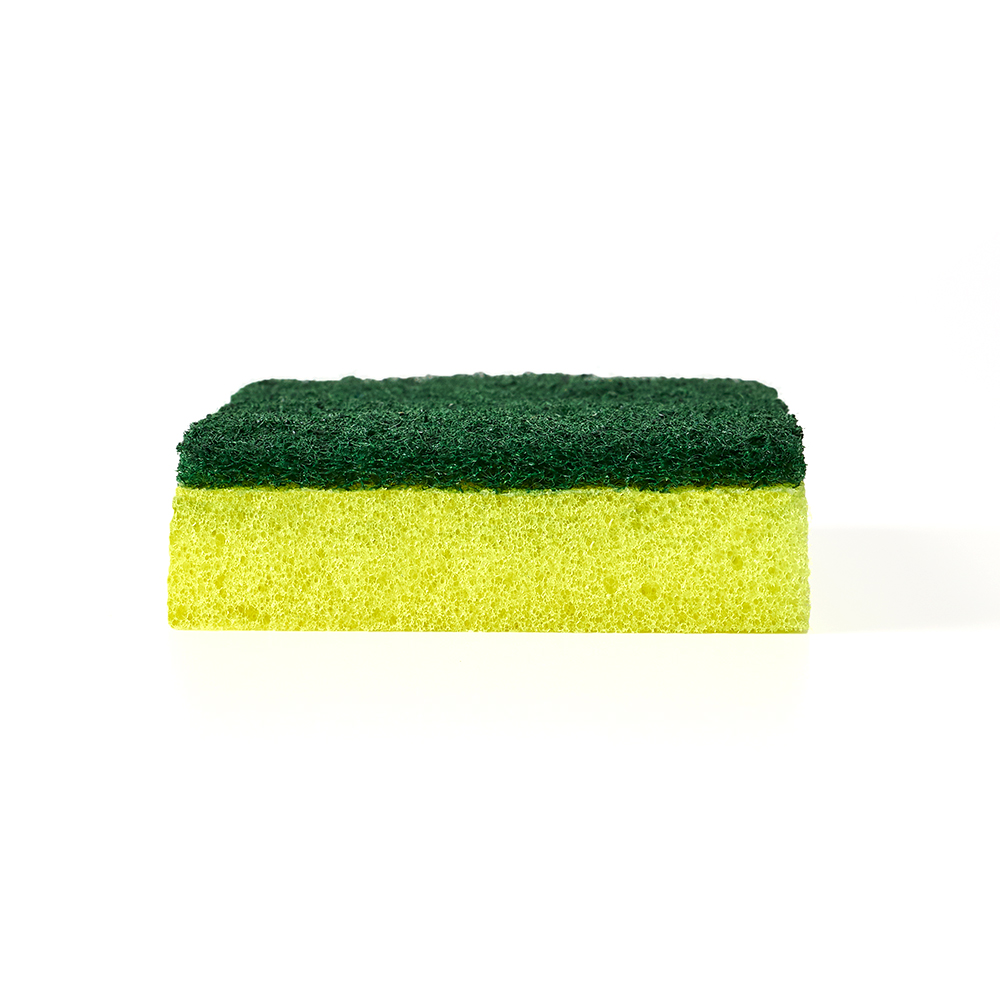 Brillo® Estracell® Heavy Duty Scrub Sponge out of package