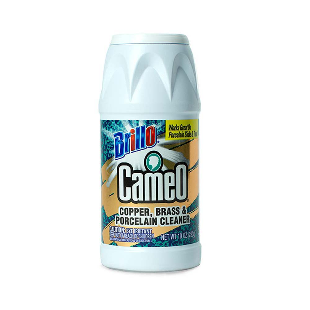 Brillo® Cameo® - Copper, Brass & Porcelain Cleaner - Your Non-abrasive Tarnish Remover