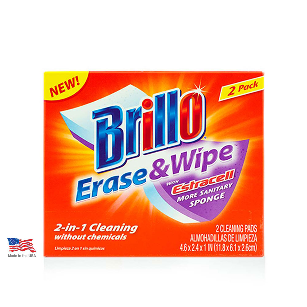 Brillo® Erase & Wipe™