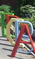 Custom Bike Rack for VG Elementary School