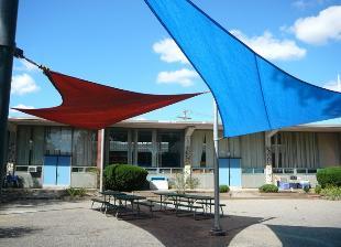 Vartan Gregorian Elementary School Fabric Canopy