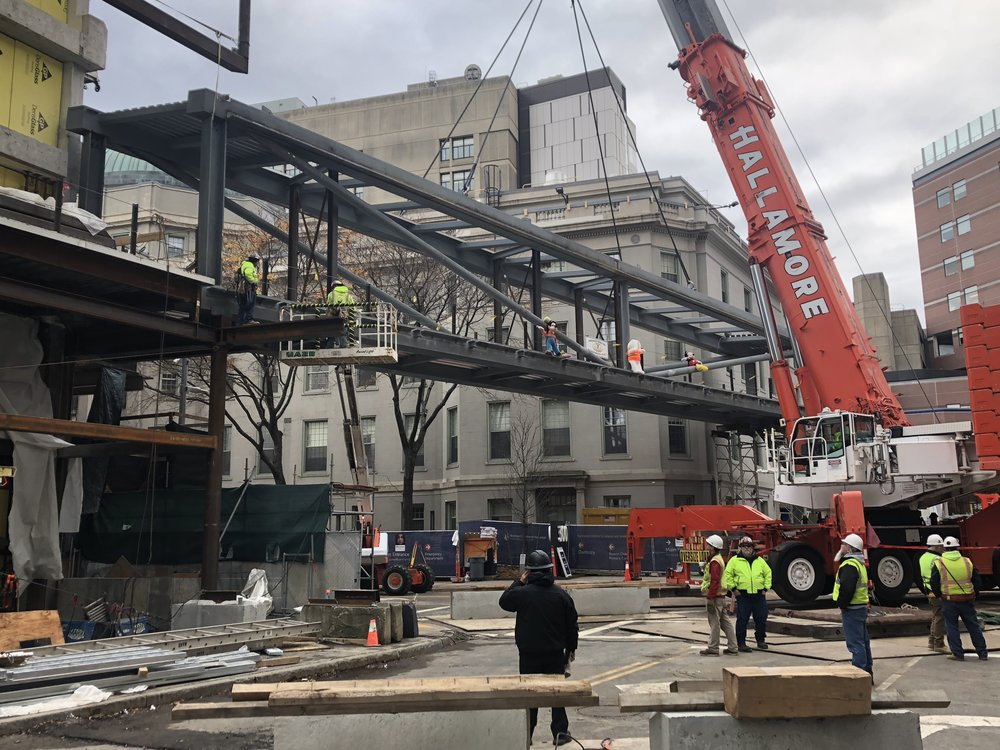 Steel Erection 11/19/2018