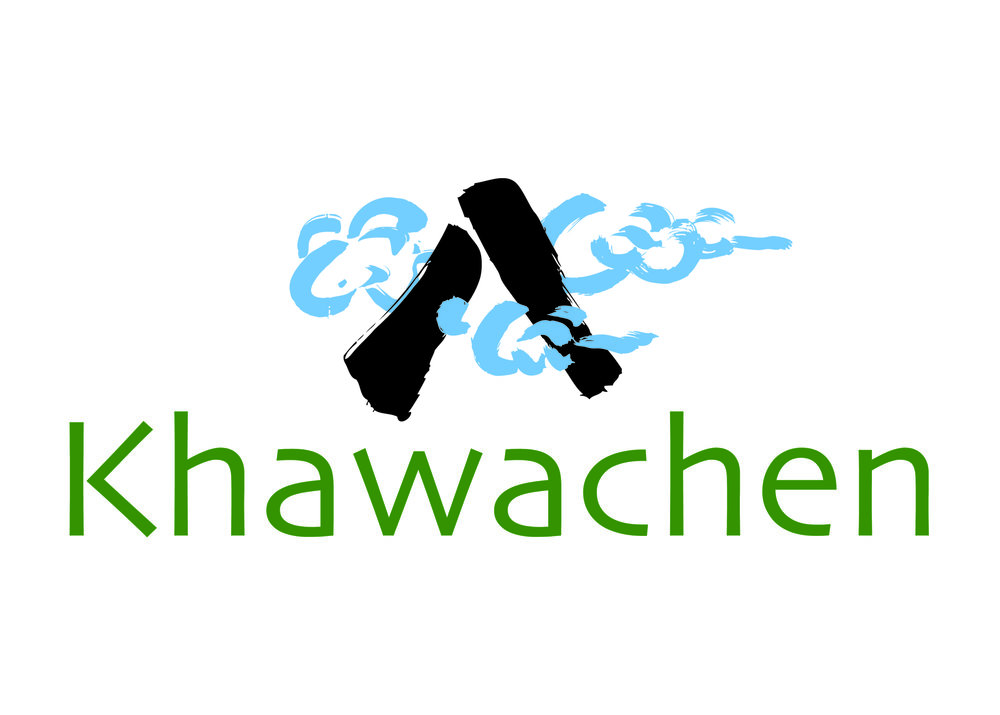 """From their website: """"More than 25 years ago, InnerAsia founded the Khawachen Arts and Craft Center in Lhasa to revitalize Tibetan rug weaving."""" We created this logo for their Hanover, New Hampshire, store, which sells handcrafted rugs and other extraordinary treasures from Tibet."""