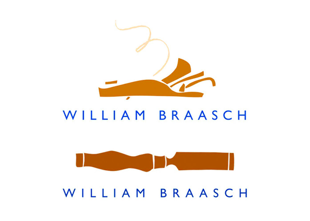 Fine woodworker and furniture designer/builder William Braasch of Lyme, New Hampshire, wanted to capture the creativity, originality, and uniqueness of his work. We asked him to bring us some of his favorite tools, and his old English chisel and block plane ended up being interpreted how else? As hand-cut illustrations.