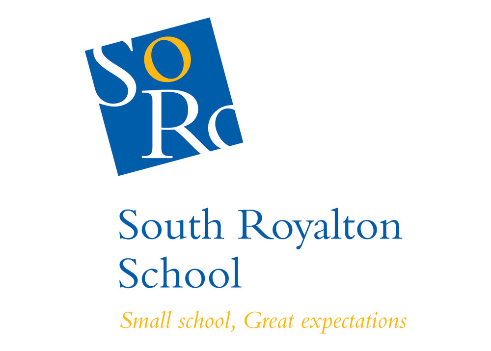 Logo and tagline for South Royalton School, South Royalton, Vermont. This public school was facing competition from private schools in the area, and decided that re-branding would help them gain more visibility and credibility.