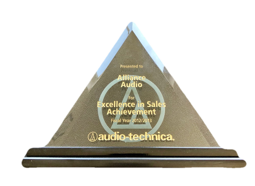 AAVG Excellence in Sales 2012/2013