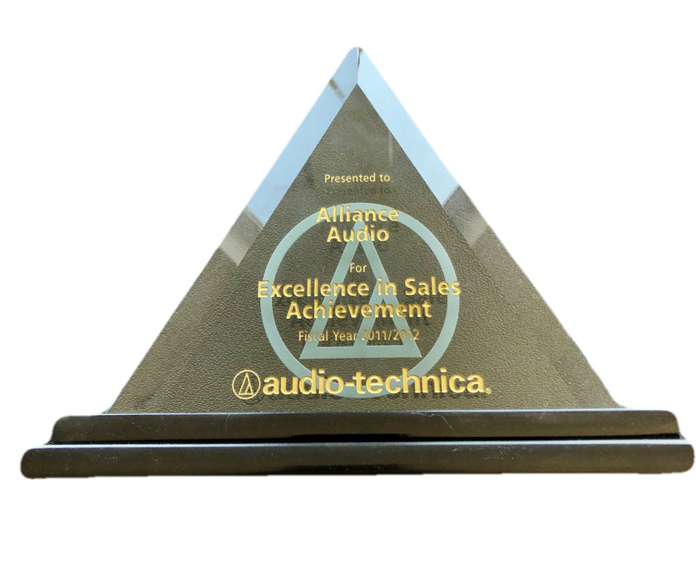 AAVG Excellence in Sales 2011/2012