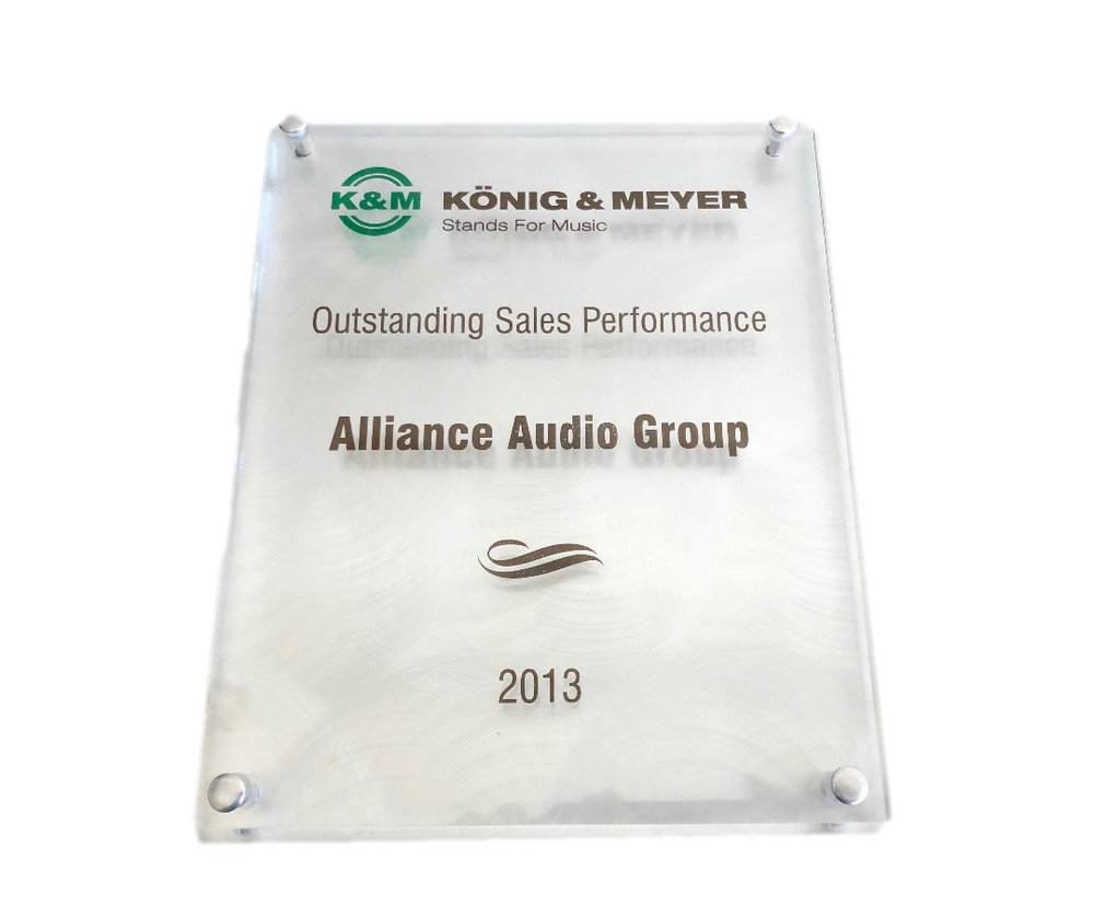K & M Outstanding Sales Performance 2013