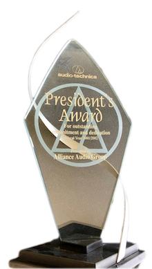 President's Award 2001/2002